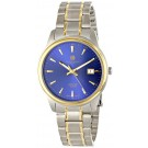 Charles-Hubert Paris Men's Two-Tone Titanium Quartz Watch