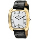 Charles-Hubert Paris Men's Gold-Plated Stainless Steel Quartz Watch