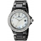 Charles-Hubert Paris Women's Black Ceramic Quartz Watch