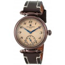 Charles-Hubert Paris Women's Brown Plated Stainless Steel Quartz Watch