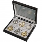 Pocket Watch Collector Box
